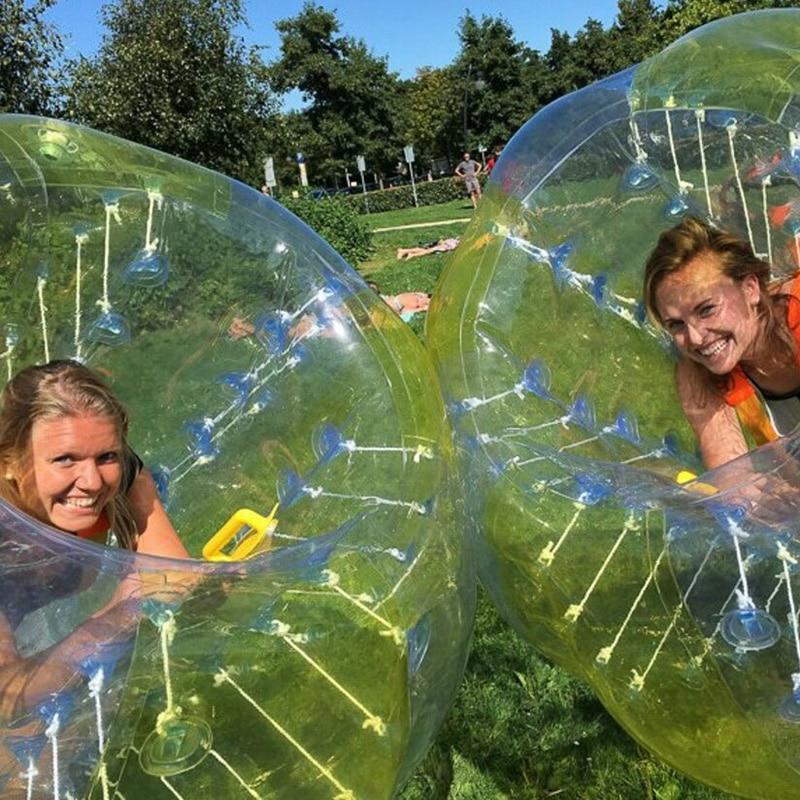 Bubble Voetbal tijdens je bedrijfsuitje? Wij probeerden het gisteren zelf...