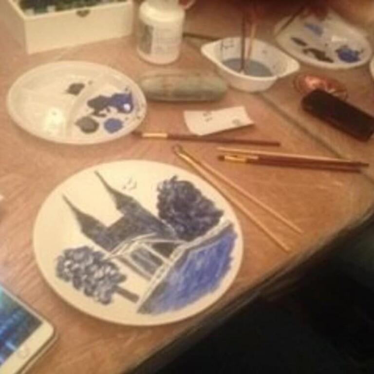 Delfts blauw schilderworkshop