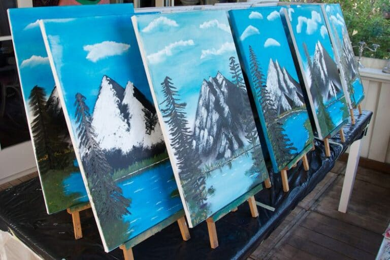 Online Bob Ross Workshop
